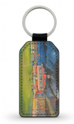 broomfield pavilion  PU Leather Keyring Printed Both Sides (1)